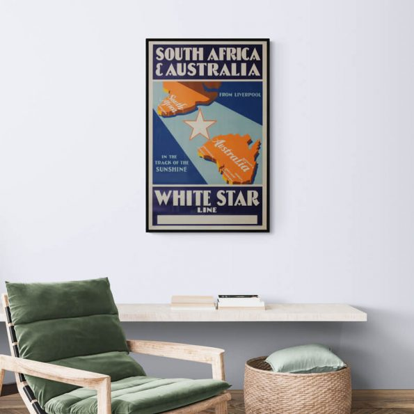 White_Star_Line_Cozy_room_with_armchair_and_wall_shelf