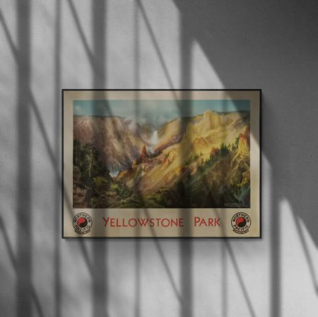 Yellowstone Park poster 1