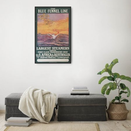 Blue Funnel Lines - South Africa & Australia poster 2