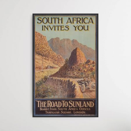 South Africa invites you poster