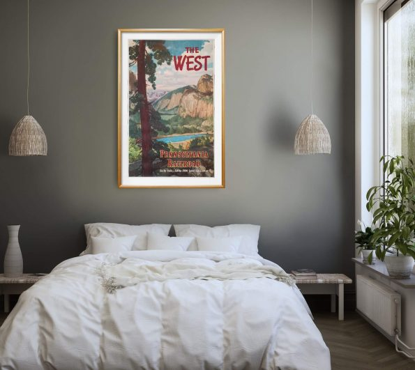 the-west-poster-gold